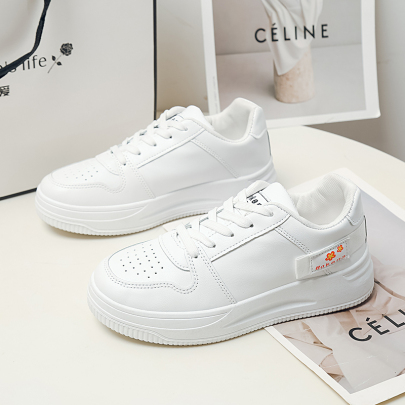 Flat Lace-up Sneakers Nihaostyles Clothing Wholesale NSYUS75322