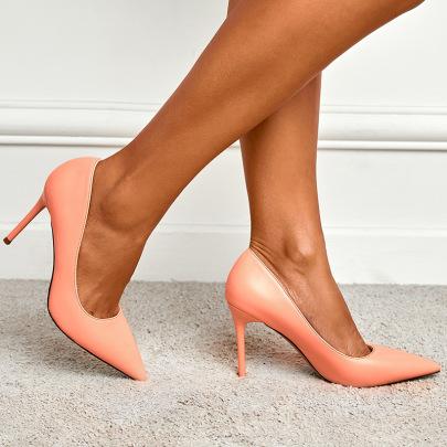 Pointed Shallow Stiletto Shoes Nihaostyles Wholesale Clothing Vendor NSCA75283