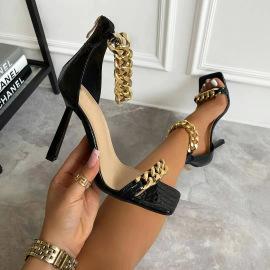 Square Toe Stiletto Sandals Nihaostyles Wholesale Clothing Vendor NSCA75286