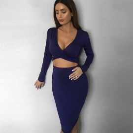 Women's Long-sleeved Dress Nihaostyles Clothing Wholesale NSXPF75303