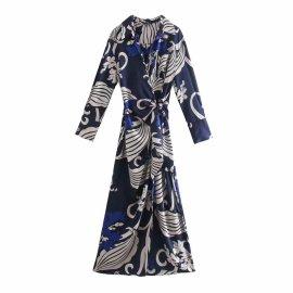 Fashion Printed Shirt Dress Nihaostyles Wholesale Clothing Vendor NSAM75461