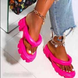 Platform Flip Flops Nihaostyles Clothing Wholesale NSYUS75807