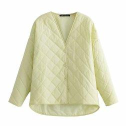 Stitched Cotton Jacket Nihaostyles Wholesale Clothing Vendor NSAM75868
