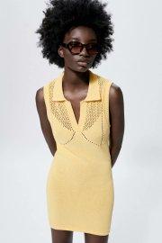 Collar Sleeveless Temperament Dress Nihaostyles Wholesale Clothing Vendor NSAM75917