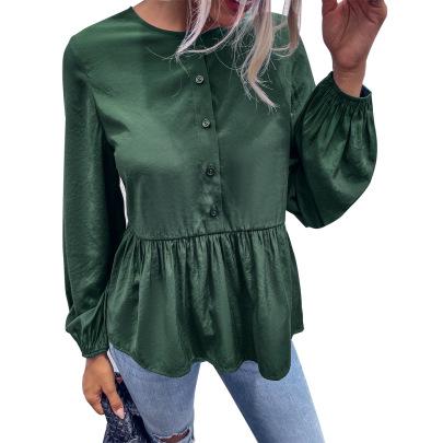 Women's Casual Slim Long-sleeved Shirt Nihaostyles Clothing Wholesale NSJM76016