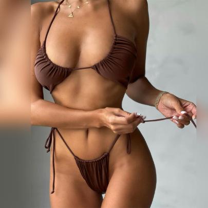 Women's Drawstring Bikini Nihaostyles Clothing Wholesale NSLJ76057