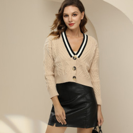 Women's Short Knitted Cardigan Nihaostyles Clothing Wholesale NSBY76611