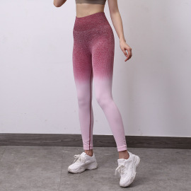 Starry Sky Gradient Yoga Tights Nihaostyles Clothing Wholesale NSOUX76675