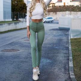 Women's High Waist Tight Yoga Pants Nihaostyles Clothing Wholesale NSOUX76678