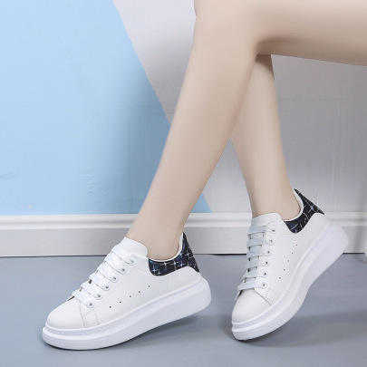 Women's Multi-color Thick-soled White Shoes Nihaostyles Clothing Wholesale NSSC76737