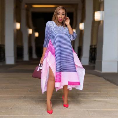Women's Loose Plus Size Dress Nihaostyles Clothing Wholesale NSXHX76758