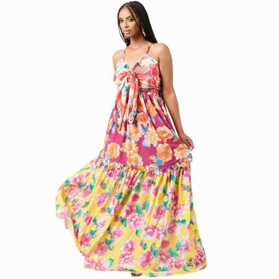 Women's Floral Dress Nihaostyles Clothing Wholesale NSXHX76768