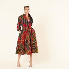 Women's  African Ethnic Style Dress Nihaostyles Clothing Wholesale NSXHX76783