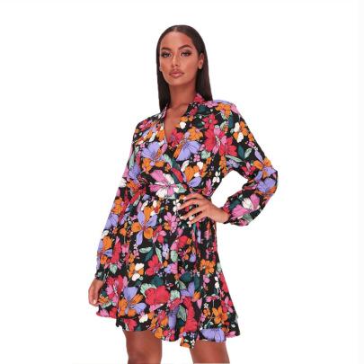 Women's Floral Dress Nihaostyles Clothing Wholesale NSXHX76806