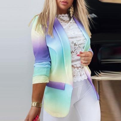 Women's Long-sleeved Slim Top Coat Suit Nihaostyles Clothing Wholesale NSBTY71818