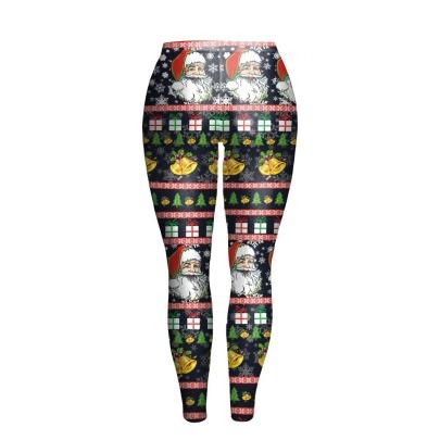 Christmas Slim Hip Sexy Leggings Wholesale Clothing Vendor Nihaostyles NSXPF71863