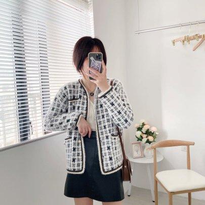 Women's Knitted Cardigan Jacket Nihaostyles Clothing Wholesale NSAM72062