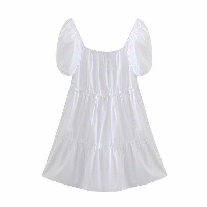 Women's Layered Stitching Mini Dress Nihaostyles Clothing Wholesale NSAM72115