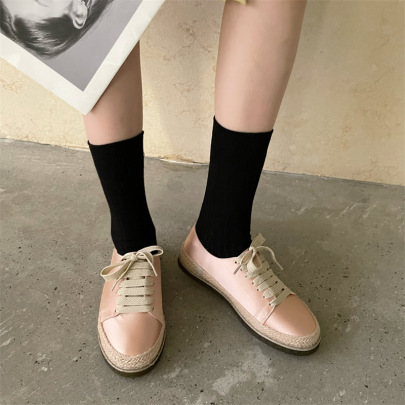 Lace-up Breathable Shoes Nihaostyles Wholesale Clothing Vendor NSCA72148