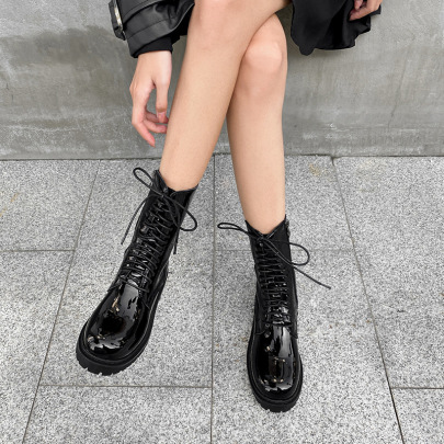 Velvet Locomotive Short Boots Nihaostyles Wholesale Clothing Vendor NSCA72158