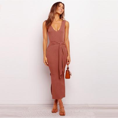 Women's Strappy Dress Nihaostyles Clothing Wholesale NSHYG72249