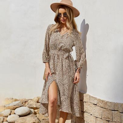 Bottom Front Long Dress Nihaostyles Wholesale Clothing Vendor NSKA72315
