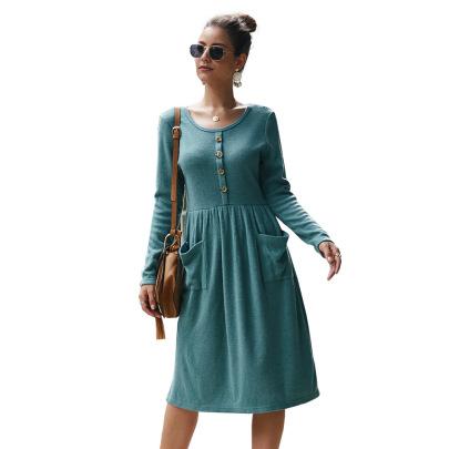 Knitted Slim Dress Nihaostyles Wholesale Clothing Vendor NSKA72335
