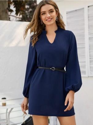 Women's Solid Color Jumpsuit + Belt Nihaostyles Clothing Wholesale NSOUY72990