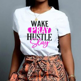 Women's Color Matching English Print Short-sleeved T-shirt Nihaostyles Clothing Wholesale NSYAY73755