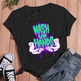 Women's Short-sleeved T-shirt With English Printing Nihaostyles Clothing Wholesale NSYAY73765