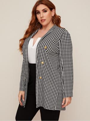 Women's Long-sleeved Plus Size Jacket Nihaostyles Clothing Wholesale NSCX72526