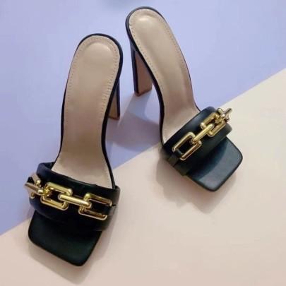 Women High Heel Slippers Nihaostyles Clothing Wholesale NSHYR76821