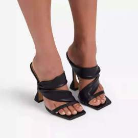 Women's Stiletto Heels Slippers Nihaostyles Clothing Wholesale NSHYR76822