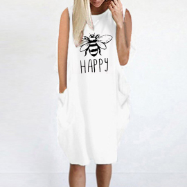 Women's Sleeveless Pure Color Pocket Dress Nihaostyles Clothing Wholesale NSOUY77502