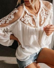 Women's Solid Color Chiffon Large Size Loose Shirt Nihaostyles Wholesale Clothing NSNXX78196