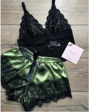 Women's Sexy Lace Bra Two-piece Nihaostyles Wholesale Clothing NSFQQ78301
