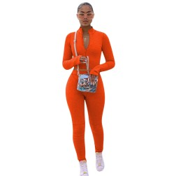 Women's Solid Color Velvet Long-sleeved Multicolor Two-piece Sports Suit Nihaostyles Clothing Wholesale NSYDF78308
