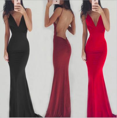 Women's Sleeveless Halter Dress Nihaostyles Wholesale Clothing NSYIS78527