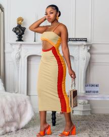Women's Sling Hollow Bag Hip Dress Nihaostyles Wholesale Clothing NSAB78464