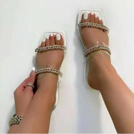 Women's Large Size Flat Bottom Slippers Nihaostyles Wholesale Clothing NSHYR78497