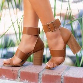 Women's Summer High Heel Sandals Nihaostyles Wholesale Clothing NSHYR78501