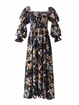 Women's Floral Dress Nihaostyles Wholesale Clothing NSAM78514