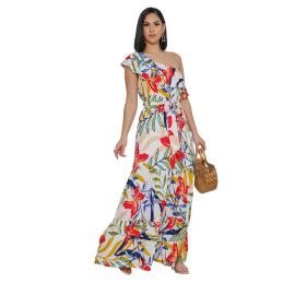 Women's Casual Off-the-shoulder Dress Nihaostyles Wholesale Clothing NSXPF78539