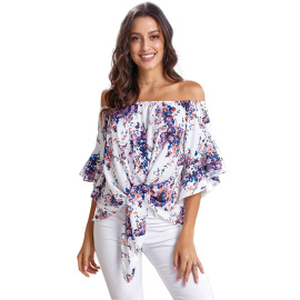 Women's One-line Neck Tube Top T-shirt Nihaostyles Wholesale Clothing NSQSY78569