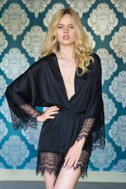 Women's Lace Night Gown Bathrobe Nihaostyles Wholesale Clothing NSFQQ78672