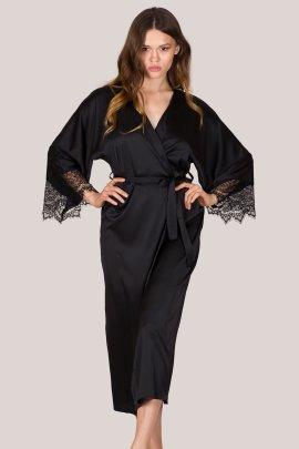 Women's Lace Bathrobe Pajamas Suit Nihaostyles Wholesale Clothing NSFQQ78691