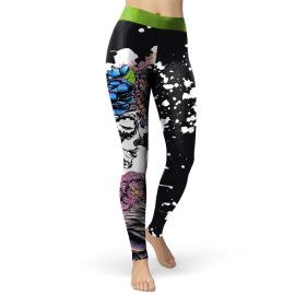 Women's Halloween Digital Printed Leggings Nihaostyles Wholesale Halloween Costumes NSNDB78718