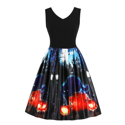 Women's Plus Size  Slim Dress Nihaostyles Wholesale Halloween Costumes NSMXN78738
