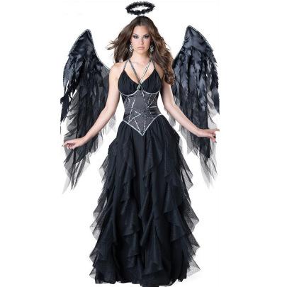 Women's Vampire Cosplay Costume Nihaostyles Wholesale Halloween Costumes NSMRP78749
