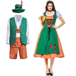 Men's And Women's Beer Bar Workwear Cosplay Costume Nihaostyles Wholesale Clothing NSPIS78753